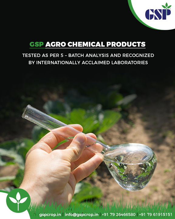 5-batch analysis is a prerequisite for registration of agrochemicals that are required to prove their chemical equivalence. The study requires the analysis of five representative production batches for the presence of significance impurities (≥0.1% w/w) and borderline impurities (0.1% > x ≥ 0.06%) to generate the product specification for global regulatory needs.  #GSPCropSciencePrivateLimited #GSP #GSPCrops #GSPCropsScience #Insecticides #Fungicides #Herbicides #PlantGrowthRegulators #Agriculture