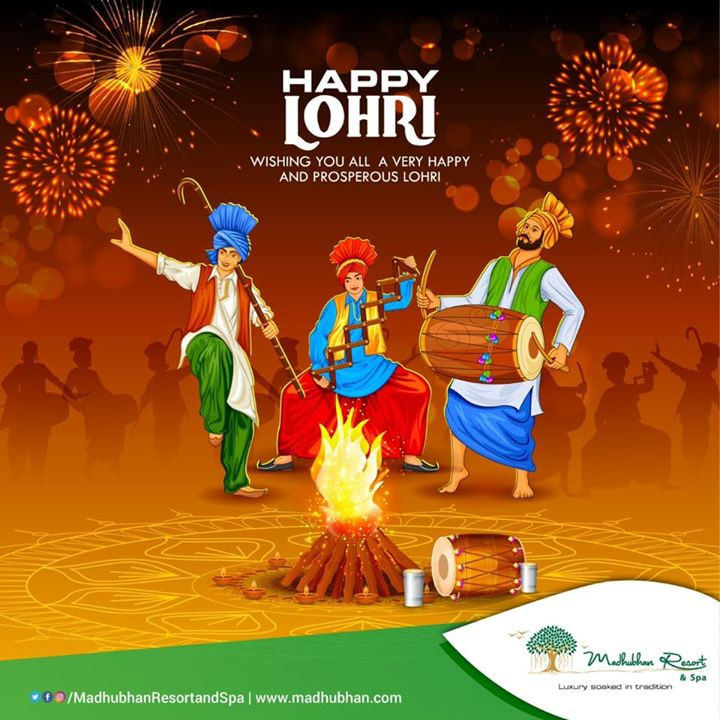 #MadhubhanResortandSpa wishes you all a Happy Lohri!  #lohri #festival #india #indian #tradition #crop #wintercrop #happylohri