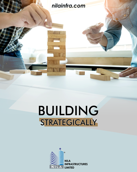 Building the architecture strategically with full proof design.  #NilaInfrastructure #Realestate #BuildToTransform #Surat #Ahmedabad