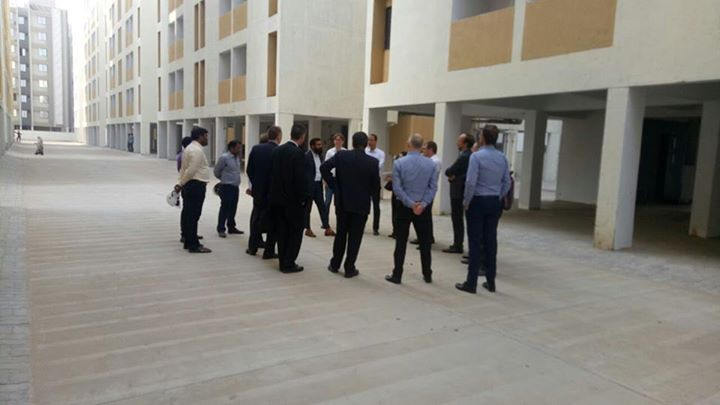 "A team of #CLSAIndia & #CLSALondon  (along with group investor companies from Singapore, Hong Kong, Austria, Denmark & USA) recently visited one of our Affordable Housing (AH) construction site at #Vastral (1,056 flats).   COO, Mr. Deep Vadodaria briefed them on various aspects of affordable housing & slum rehabilitation projects. The guests visited a few AH units in different wings, checked the structure & quality of construction along with amenities being offered.   The team also took a deep interest in understanding various dynamics of ""Housing For All by 2022 Mission"" of the PM and lauded the initiative. An initiative of govt. wherein the beneficiary is getting a home at a subsidized price. They were glad to note that such specifications and amenities (e.g. automatic lifts, children's nursery, rain-water harvesting) are being provided in such a social scheme at incredibly economic rates.   Ahmedabad Municipal Corporation #AMC #NilaInfrastructure #Realestate #BuildToTransform #Ahmedabad"