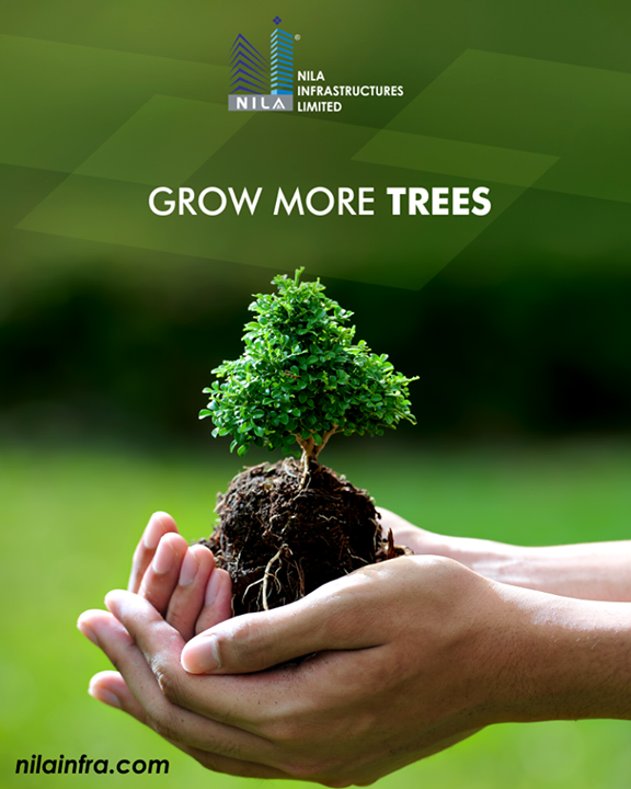 Your small contribution can bring a huge change in saving the environment.   #NilaInfrastructure #Realestate #BuildToTransform #Surat #Ahmedabad