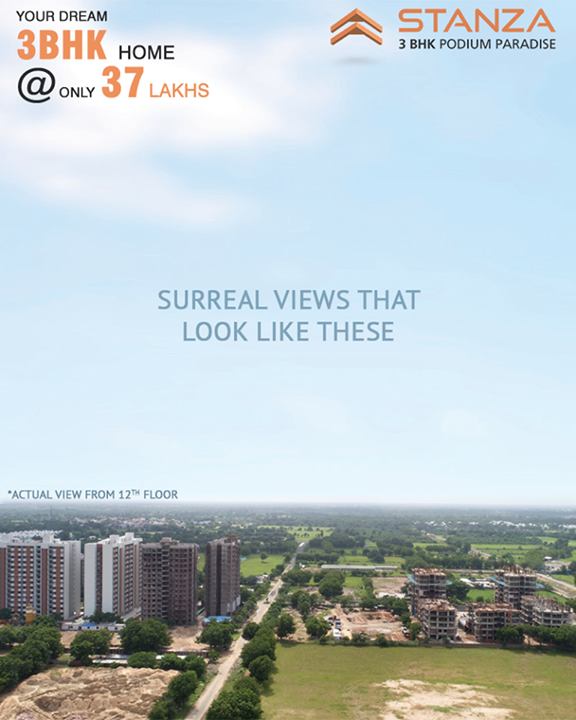 Give your life a regal experience with a Surreal view like these!  #SamarthBuildcon #LuxuryLiving #Home #Ahmedabad #SmartLiving #RealEstate