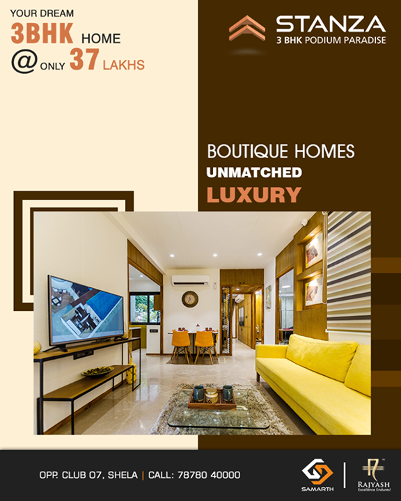 We give superior quality fittings for your dream home!  #SamarthStanza #Quality #Precision #SamarthBuildcon #LuxuryLiving #Home #Ahmedabad #SmartLiving #RealEstate