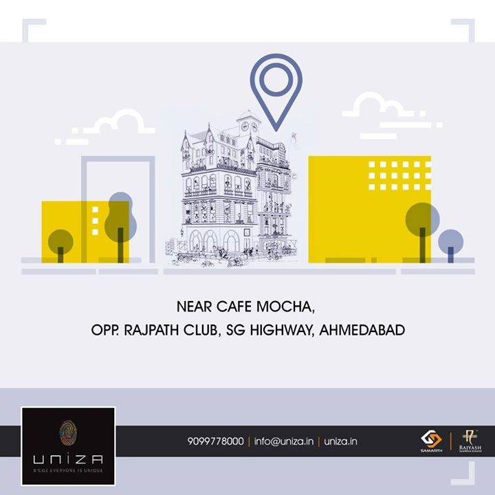 Redefining corporate spaces with optimum connectivity & location!   #Uniza #SamarthBuildcon #RealEstate #Ahmedabad #CorporateHouses