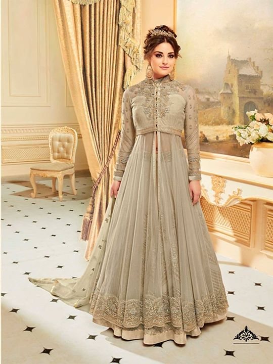 Buy online grey readymade designer anarakli dress and floor length suits for women at best price in UK. ZaraaFab provides best offers and discounts on eid salwar suit collection. https://bit.ly/2JsFwuP #greyanarkali #readymadesuits #designeranarakli #salwarkameez #festivalcollection #anarkalidressonline #anarkalisuits #eidclothes #eidsale #eiddresses #onlineshopping #modestfashion #eidshopping