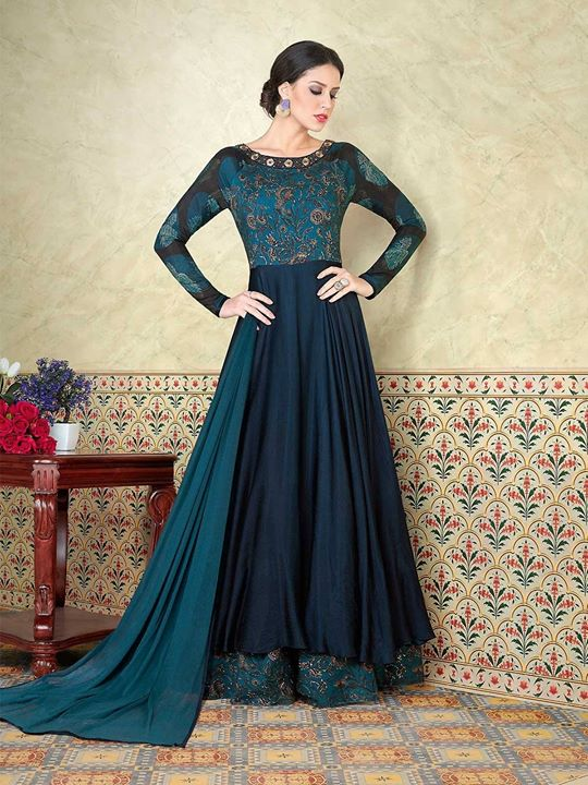 Buy one of the finest blue color long salwar kameez suit dupatta at best price from ZaraaFab online shopping store. Explore floor length anarkali suits Now. https://bit.ly/2JsFwuP #bluesalwarkameez #salwarkameez #suitsalwar #floorlengthsuits #freeshipping #partywear #onlinedress #partyweardress #anarkalisalwarsuits #anarkalidresses