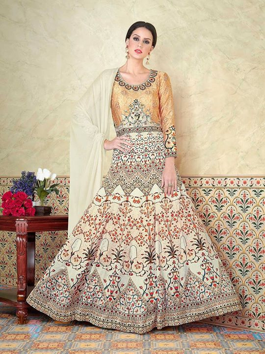 Shop exclusive light cream designer long anarkali suits for your special occasions. Huge range of women desinger indian suits are available at ZaraaFab at best price. https://bit.ly/2JsFwuP #lightcreamanarkali #anarkalisuits #anarkalidress #floorlengthanarkali #fashion #indianfashion #bridalwear #indianwedding #indianwear #anarkalifrock #paksitanifashion #partywear