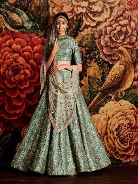 Shop online teal green party wear designer lehenga dress at best price. Pick your most loved lehenga choli in various size and designs. Shop Now! https://bit.ly/2uOR214 #LehengaCholi #TealColor #GreenLehengas #DesignerLehenga #DesignerWear #BridalLehenga #Embroidery #IndianClothe #LehengasOnline #ChaniyaCholi #EthnicWear #PartyWear #EmbroideredLehenga