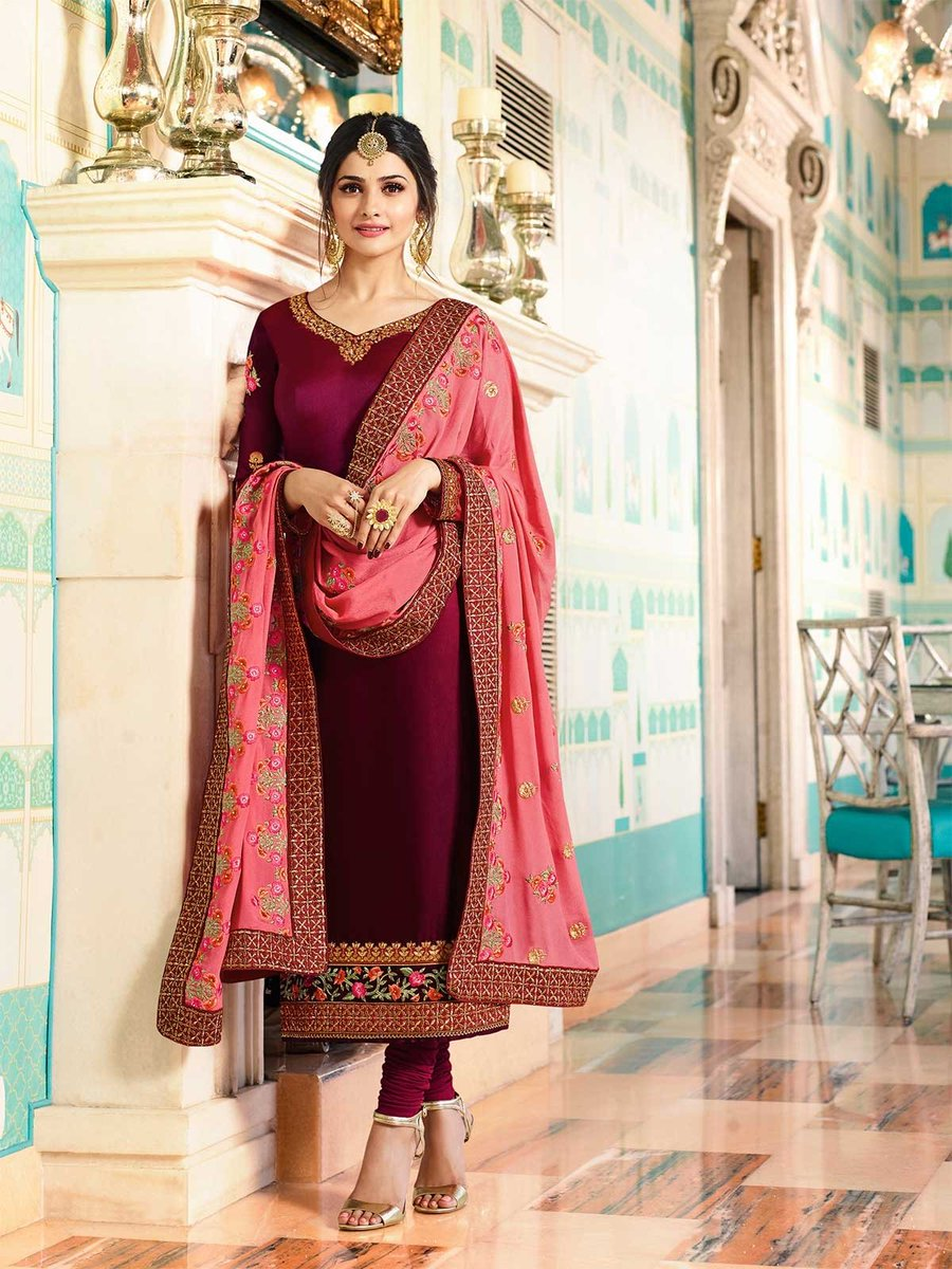 Online shopping for wine color embroidered designer salwar suit. https://t.co/38bxMw5hGL #salwarkameez #partywear #festivecollection #salwarsuit #bollywoodfashion #readymadesuit #ethnicwear #indiandesses #indianclothes #freeshipping #womensfashion #indianwedding #designerwear https://t.co/3JeX6fXWrB