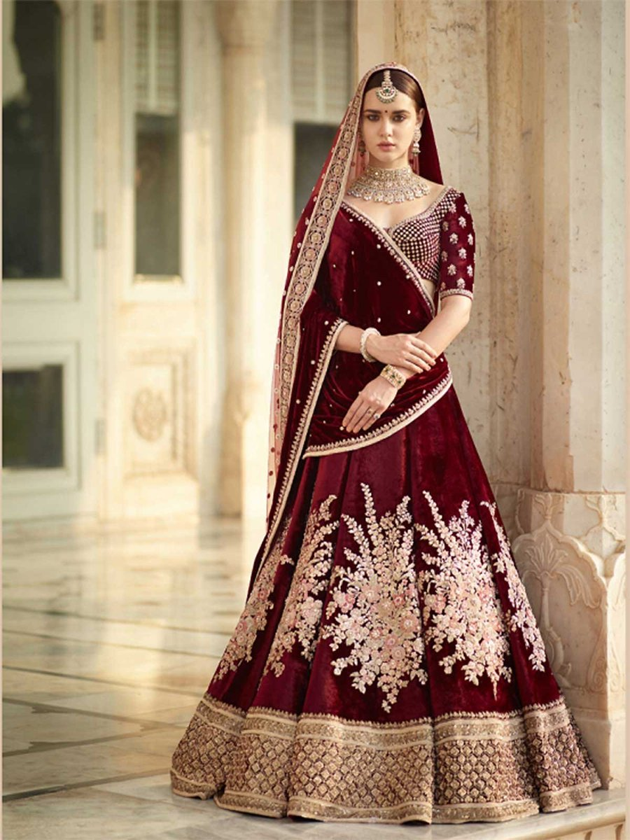 Check out the latest collection of maroon embellished women party wear lehenga choli online at best price. https://t.co/b4N43yeNmj #maroonlehenga #bridalcollection2018 #bridallehenga #fashion #lehenga #lenghacholi #indianfashion #asianstyle #designerwear #traditional #ghagracholi https://t.co/0tHFwIbuuG