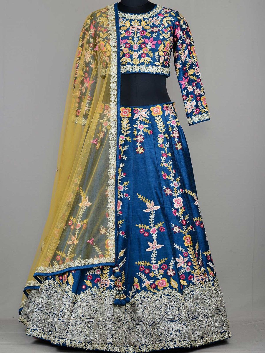 Get latest designer embroidered blue party wear lehenga at ZaraaFab. We offer latest exclusive ethnic wear collection in beautiful high quality fabrics. https://t.co/fq9rfQI86L #designerlehenga #partywear #onlineshopping #lehenga #ethnic #indianwear #bollywoodstyle #lehengacholi https://t.co/c9DsWX3kcB
