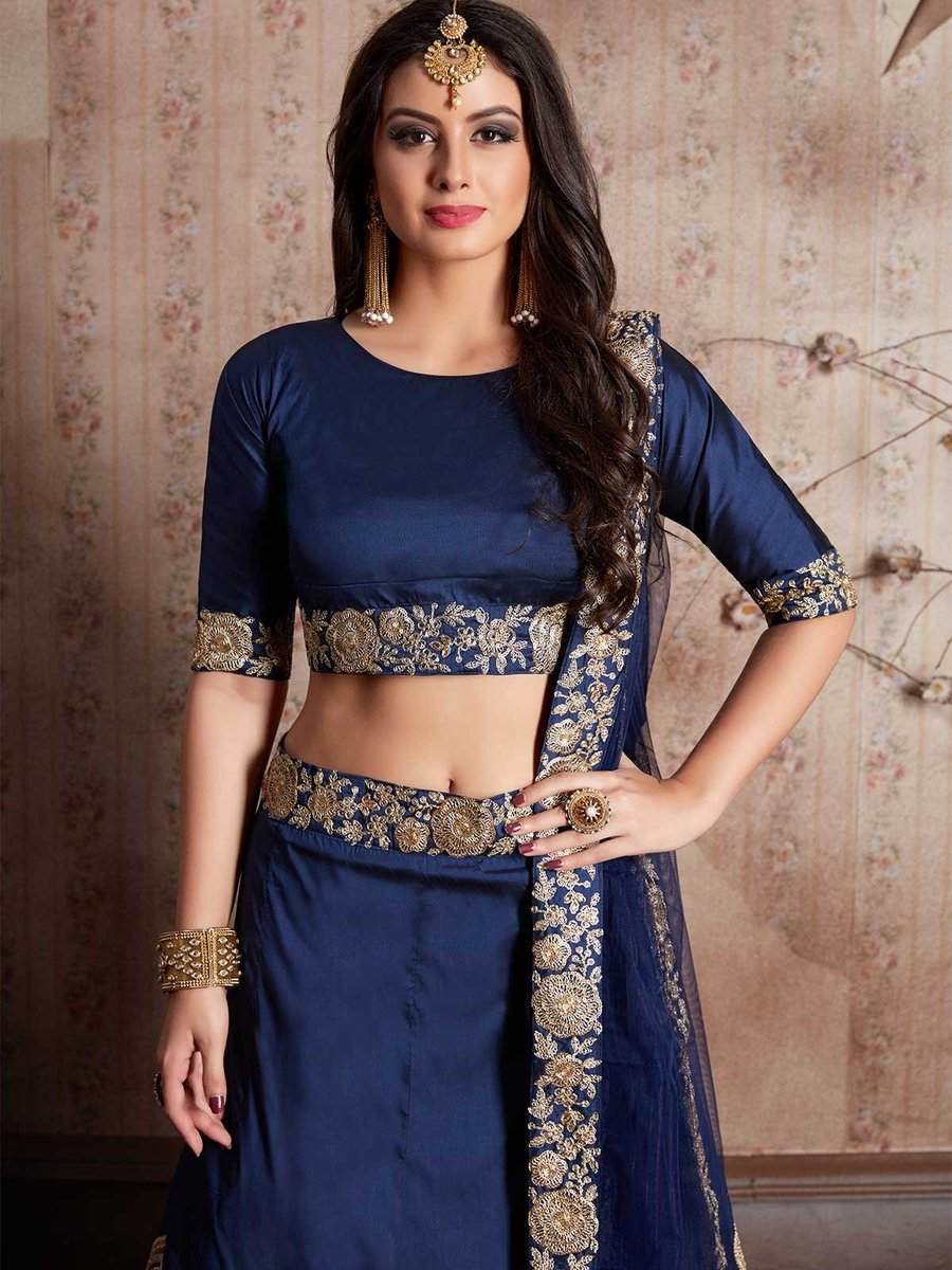 Buy online navy blue Indian lehenga choli, ethnic wear for women at low prices from ZaraaFab. https://t.co/tUnfEqemb2 #bollywoodlehenga #indianbride #partywear #lehengacholi #bridallehenga #designerlehenga #ghagara #IndianLehenga #lenghadress #festivecollection #bridalwear https://t.co/7gVmgRVxfu