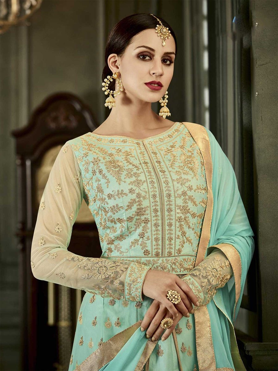 Buy online green color exclusive designer frock style anarkali salwar kameez at best offers with free shipping. https://t.co/T5fVD3CAY0 #floorlengthanarkali #anarkalisuits #anarkalifrock #anarkalisalwarkameez #salwarkameez #bollywoodsalwarkameez #bollywoodsalwarsuit #desifashion https://t.co/32qzTK2nDo